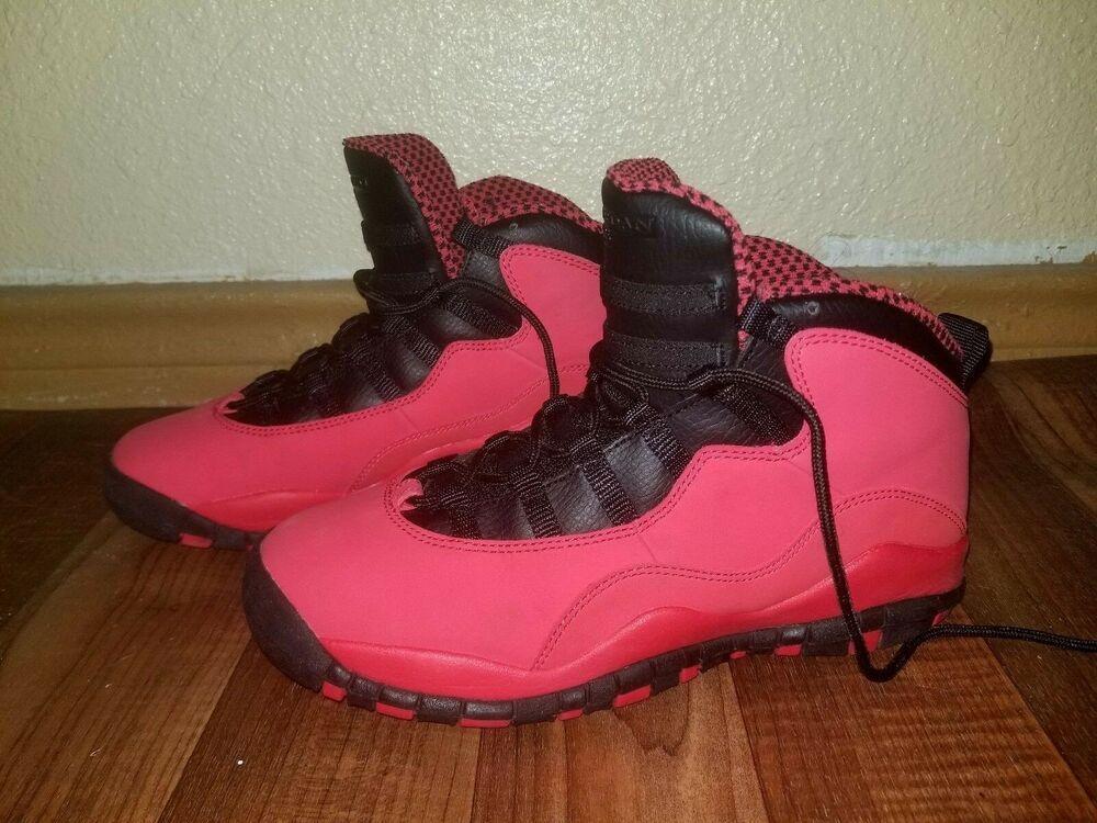 b345a506cc8 Air Jordan X 10 Retro Fusion Red/Black 487211-605 Size 6Y #fashion  #clothing #shoes #accessories #kidsclothingshoesaccs #unisexshoes (ebay  link)
