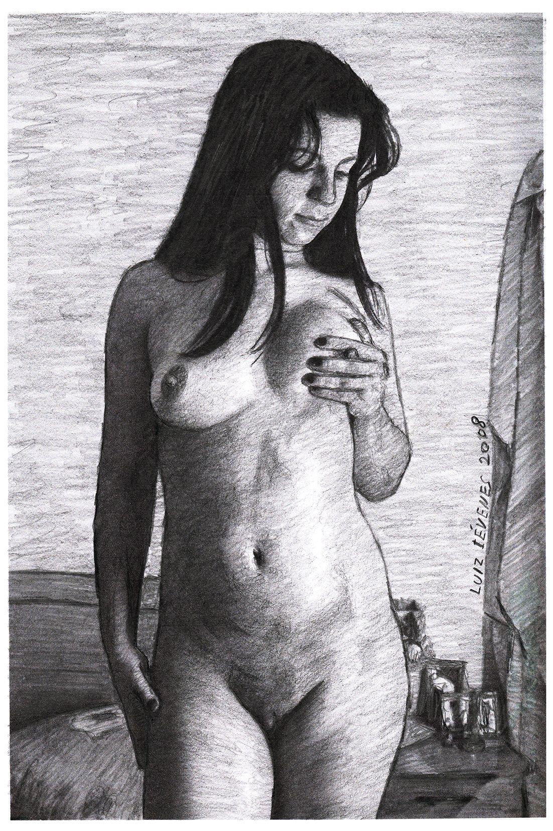 A BELA SONOLENTA 2.Desenho de Luiz Iévenes.