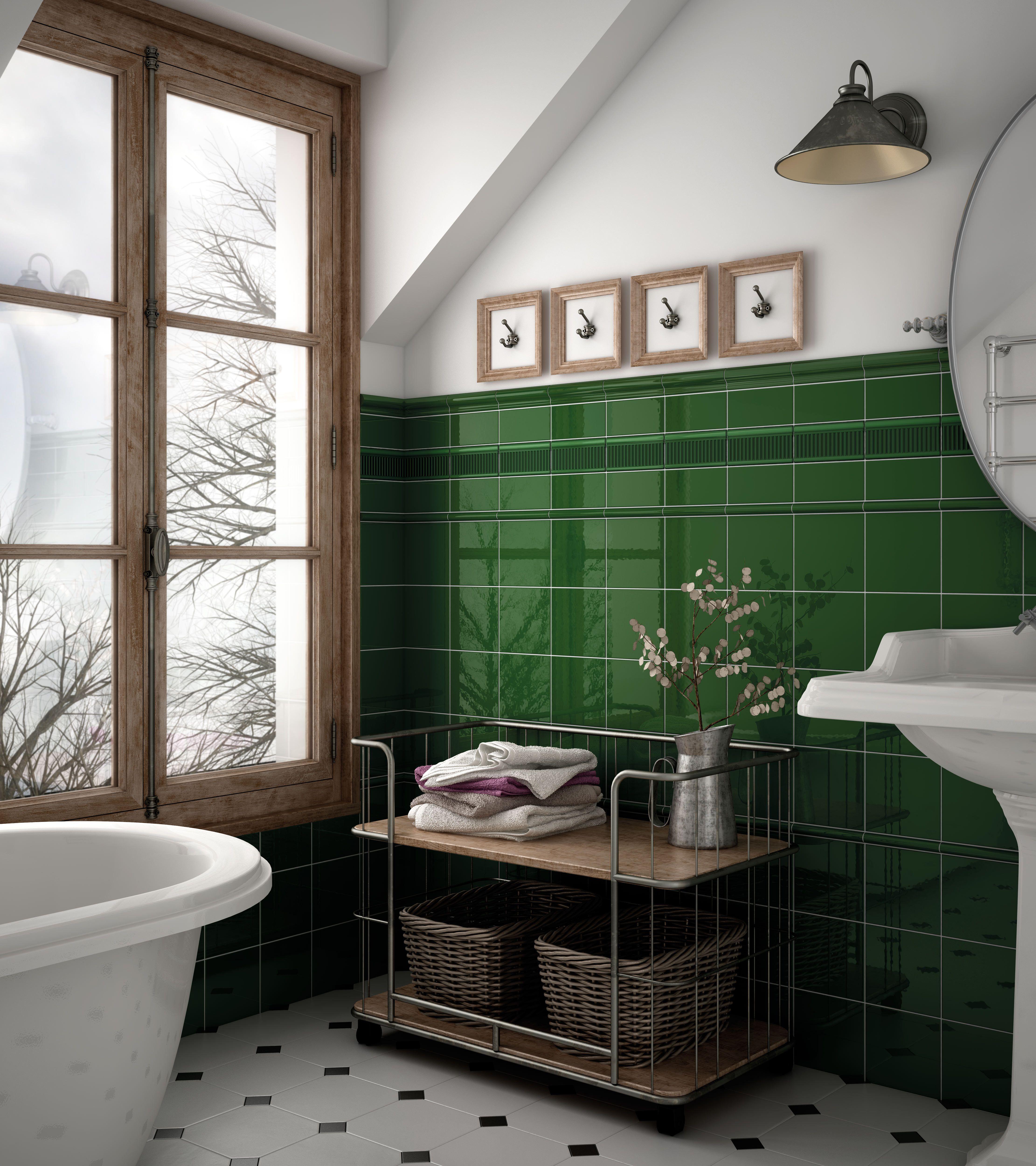 Reverse Metro Setting 4 Jpg 4443 5000 Green Tile Bathroom Bathroom Interior Design Green Bathroom