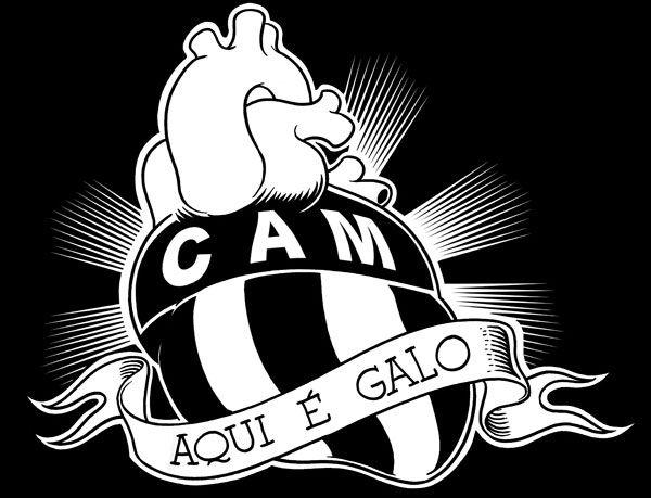 Charge Do Quinho Atletico Mg Superesportes Fotos Do Atletico Mineiro Atletico Mg Galo Na Veia