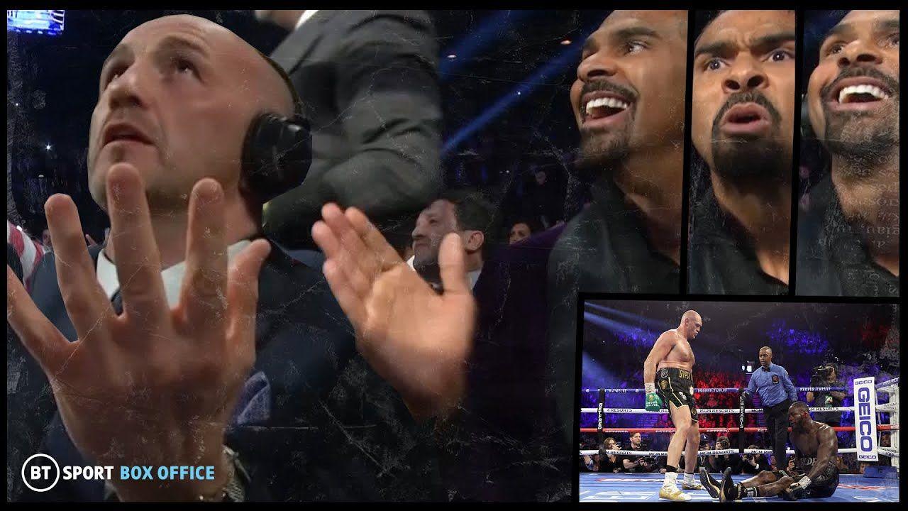 The knockdown reaction! 😂 Inside the Wilder v Fury 2