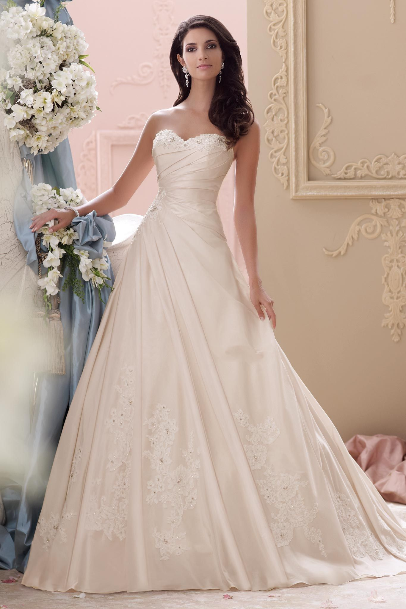 How To Find A Wedding Gown That Flatters Your Figure Bridals