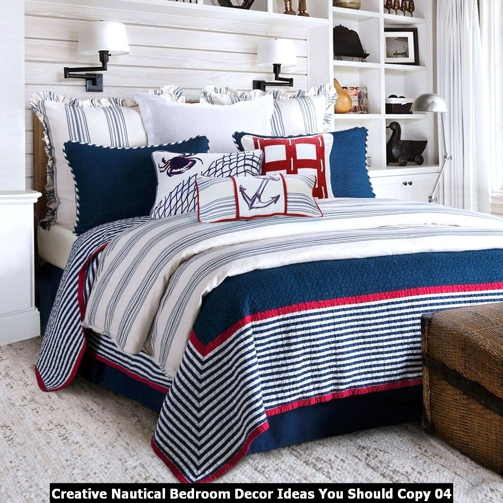 Creative Nautical Bedroom Decor Ideas You Should Copy - PIMPHOMEE