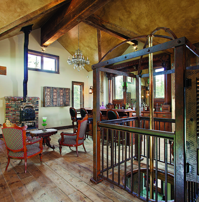 A gorgeous setting in southwest Colorado calls one couple home.
