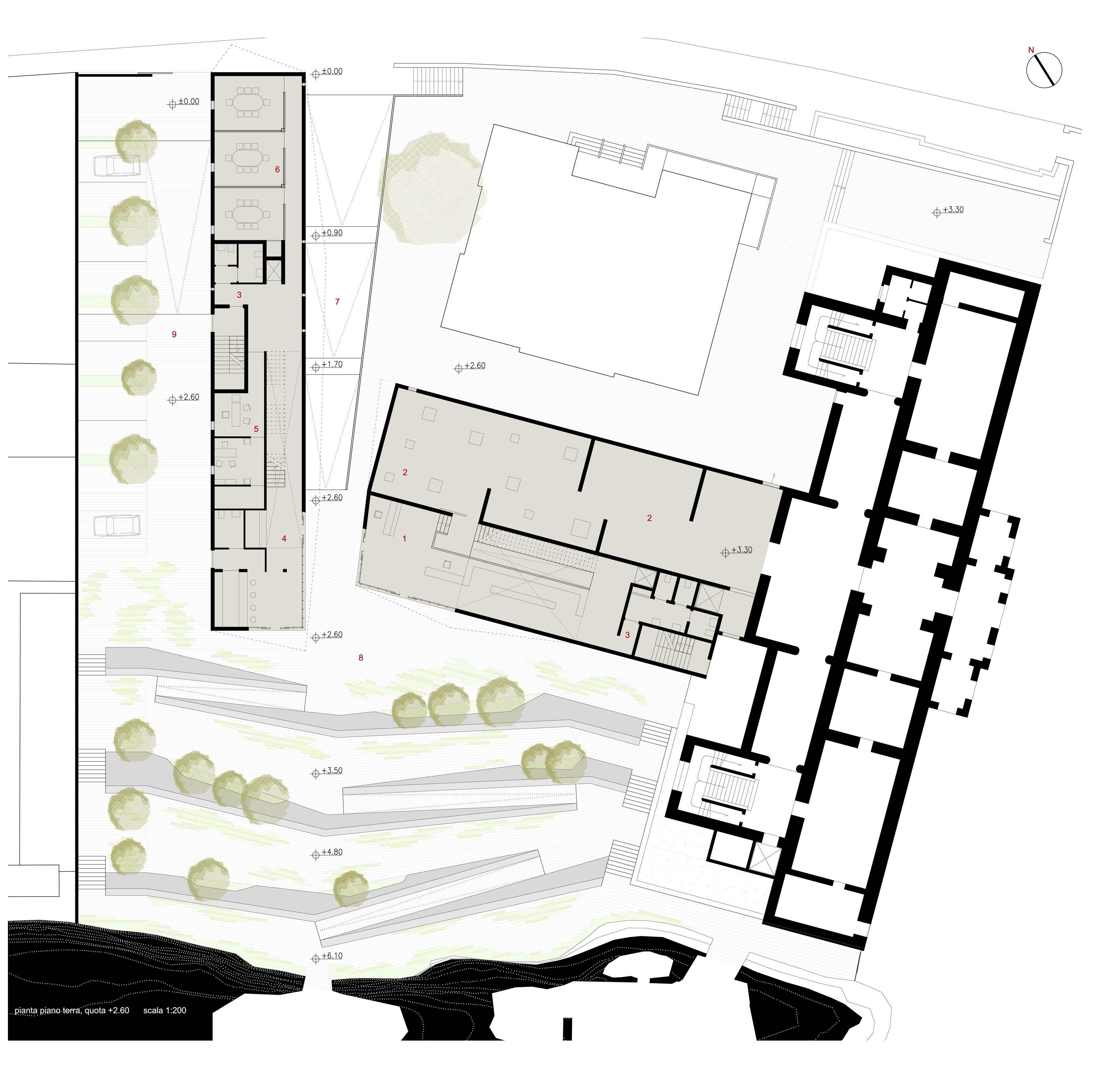 Ampliamento della Galleria Comunale d'Arte e la riqualificazione dell'area pertinente.