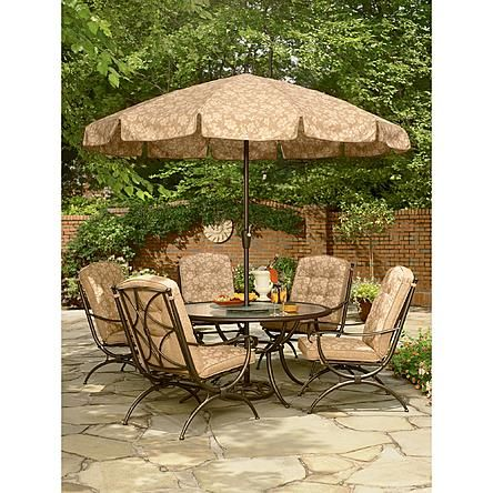 Jaclyn Smith Patio Furniture.Jaclyn Smith Today Addison 5 Dining Chairs Outdoor Wonderland