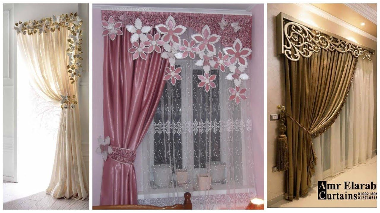 Stylish Chiffon Curtain Design For Rooms Decoration Youtube