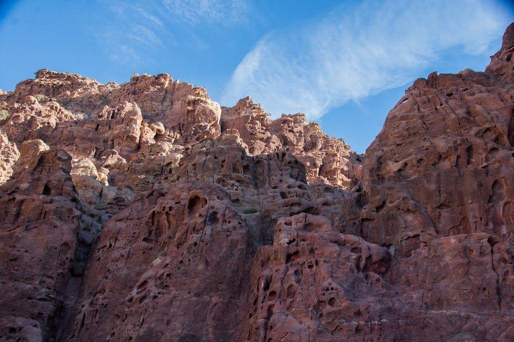 Sandstone in Wadi Sabra,
