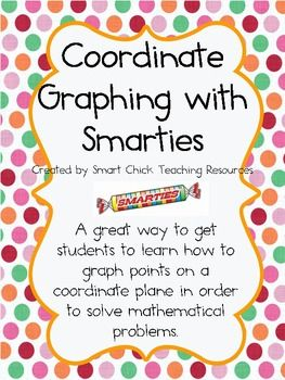 Coordinate Graphing with Smarties Candies