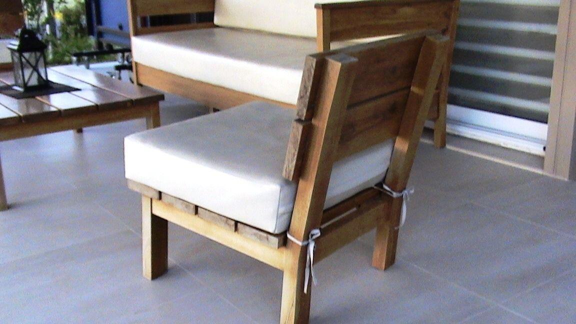 muebles exterior madera - Buscar con Google | Jardin | Pinterest ...