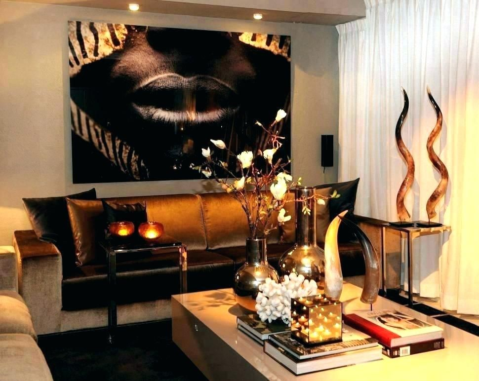 African Themed Living Room African Africanstyle Decor Interiordesign Interiorde African Living Rooms African Themed Living Room African Decor Living Room #themed #living #room #decor