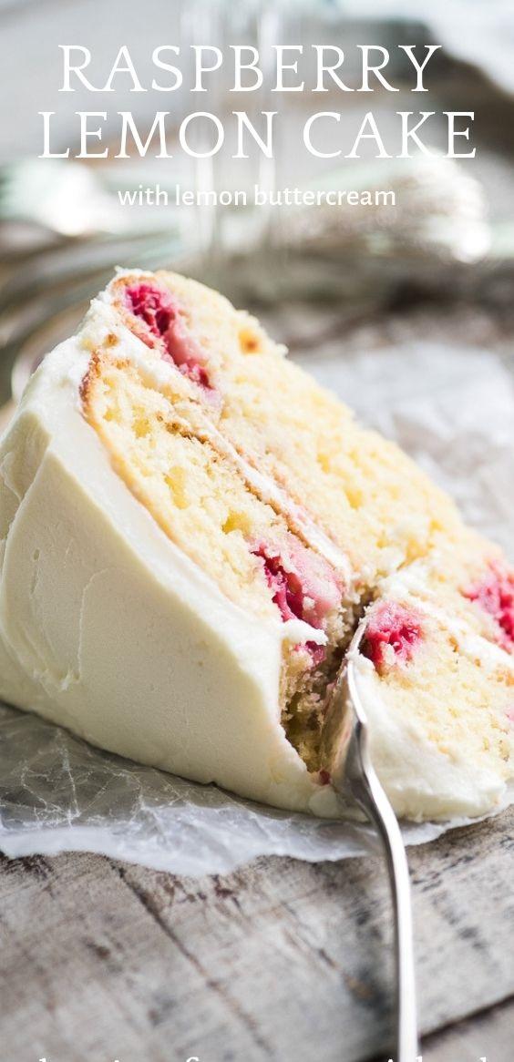 Raspberry Lemon Cake | angel2 food #cake #desertlife