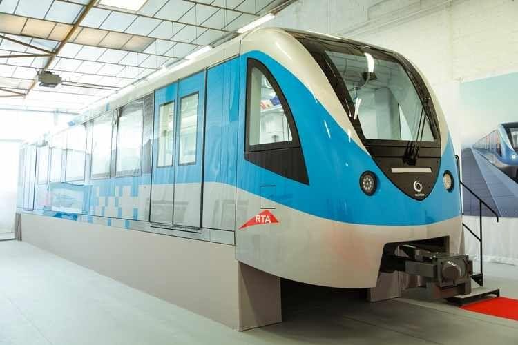 Dubai metro to get first new trains in november train