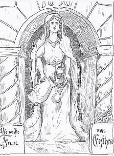 Die weiße Frau    Bild: E. Vollbach