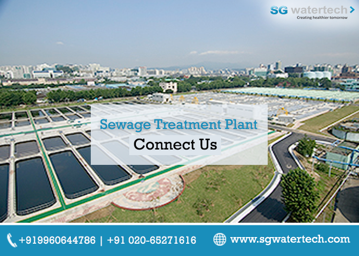 Clinching In The Professional Expertise Today Sg Watertech Marks Its Presence With A Prominence Sewage Treatment Plant Sewage Treatment Water Treatment Plant