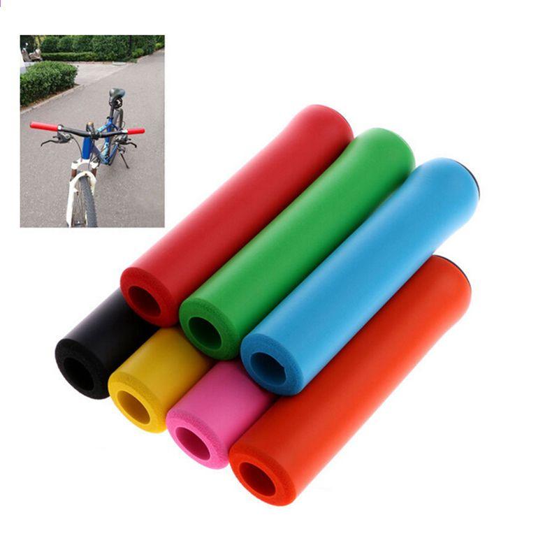 MTB Soft Foam Silicone Sponge Handle Bar Grips Handlebar Cover Bike Bicycle Grip