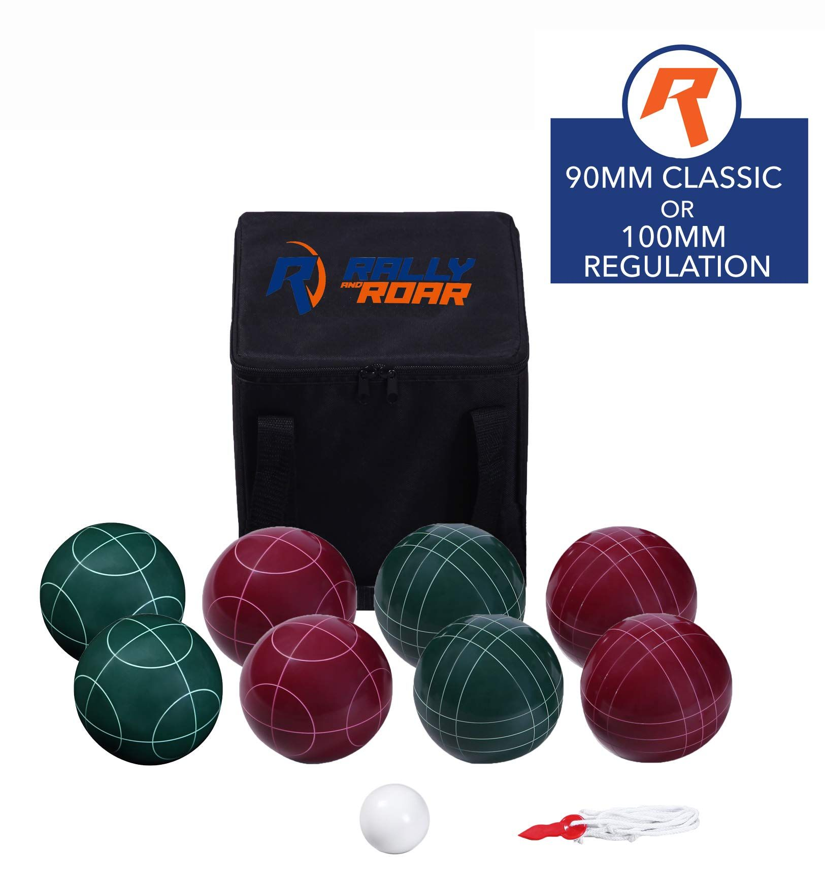 Bocce Ball Game Set for Adults, Families, and Kids 90 mm