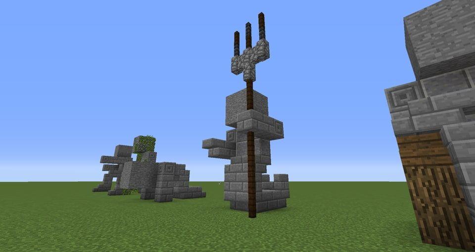 minecraft how to build ice lion pixelarty