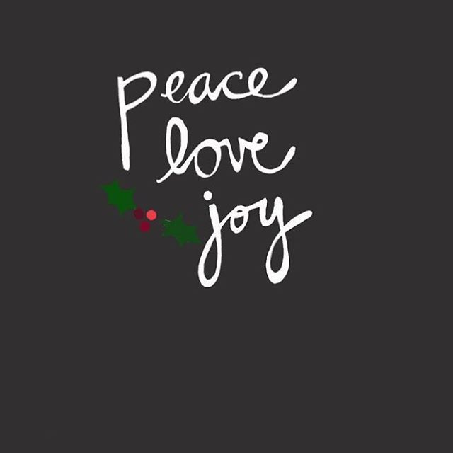 Peace Love Joy Pictures Photos And Images For Facebook Tumblr Kutipan Natal Selamat Natal Natal
