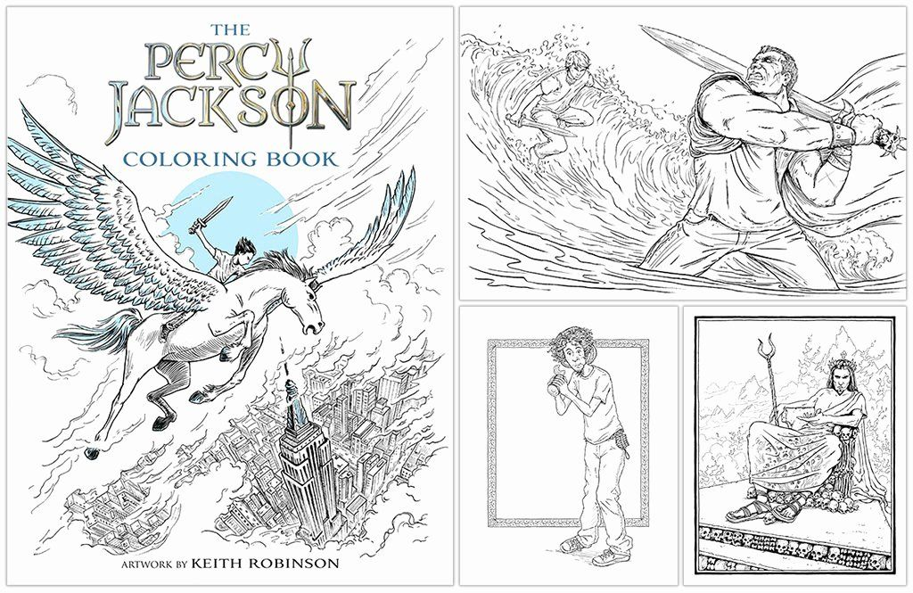 Percy Jackson And The Olympians The Percy Jackson Coloring Book Beautiful Sally Jackson The Lightning Thief Co In 2020 Coloring Books Percy Jackson Percy Jackson Books