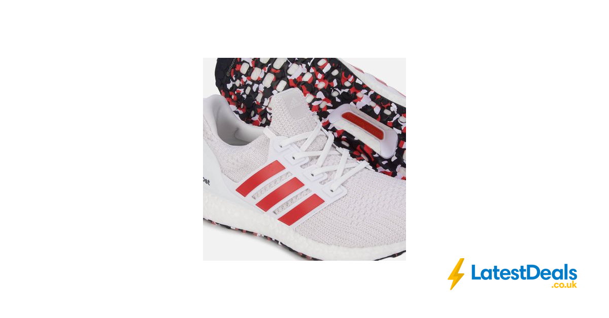 Ultraboost Trainers White Grey Red