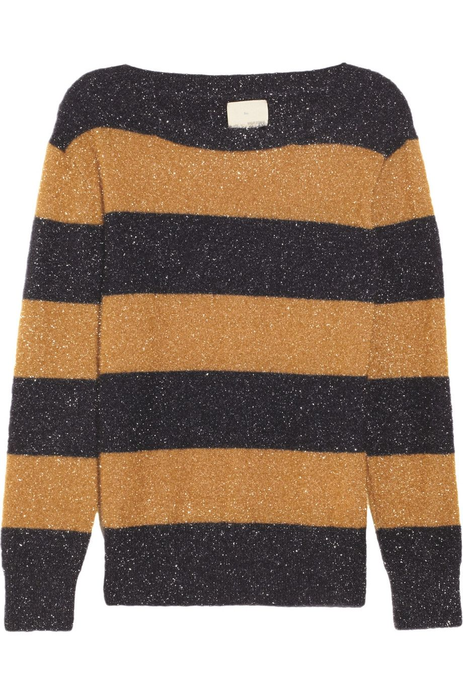 Tinsel-textured striped sweater | Too bad I'm broke... | Pinterest ...