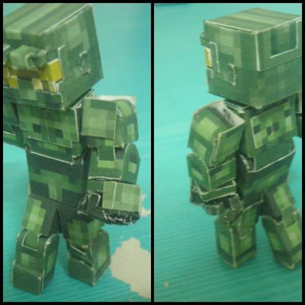Papercraft Bendable Spartan Halo Paper Crafts Halo