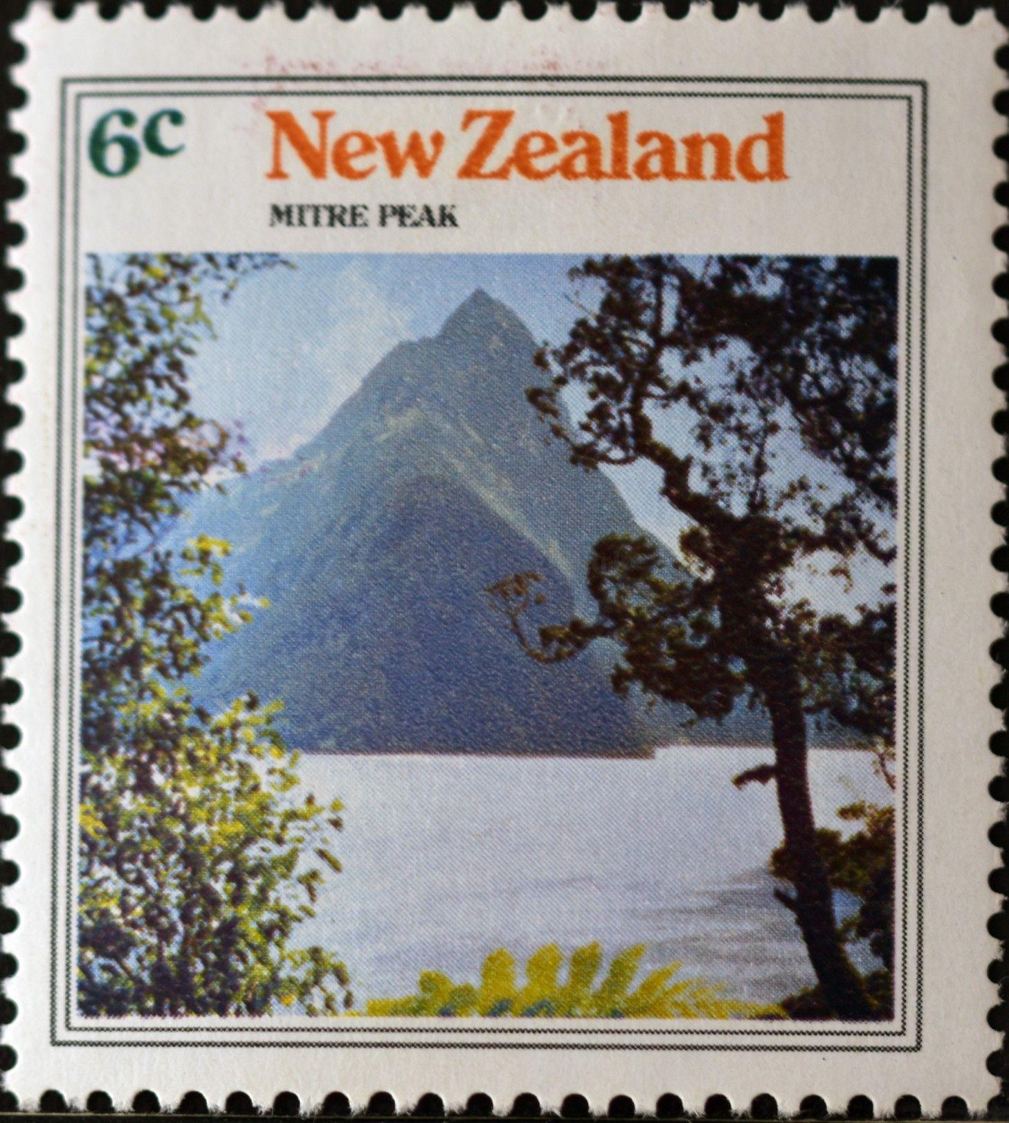 New Zealand (698) 1973 Mountain Views