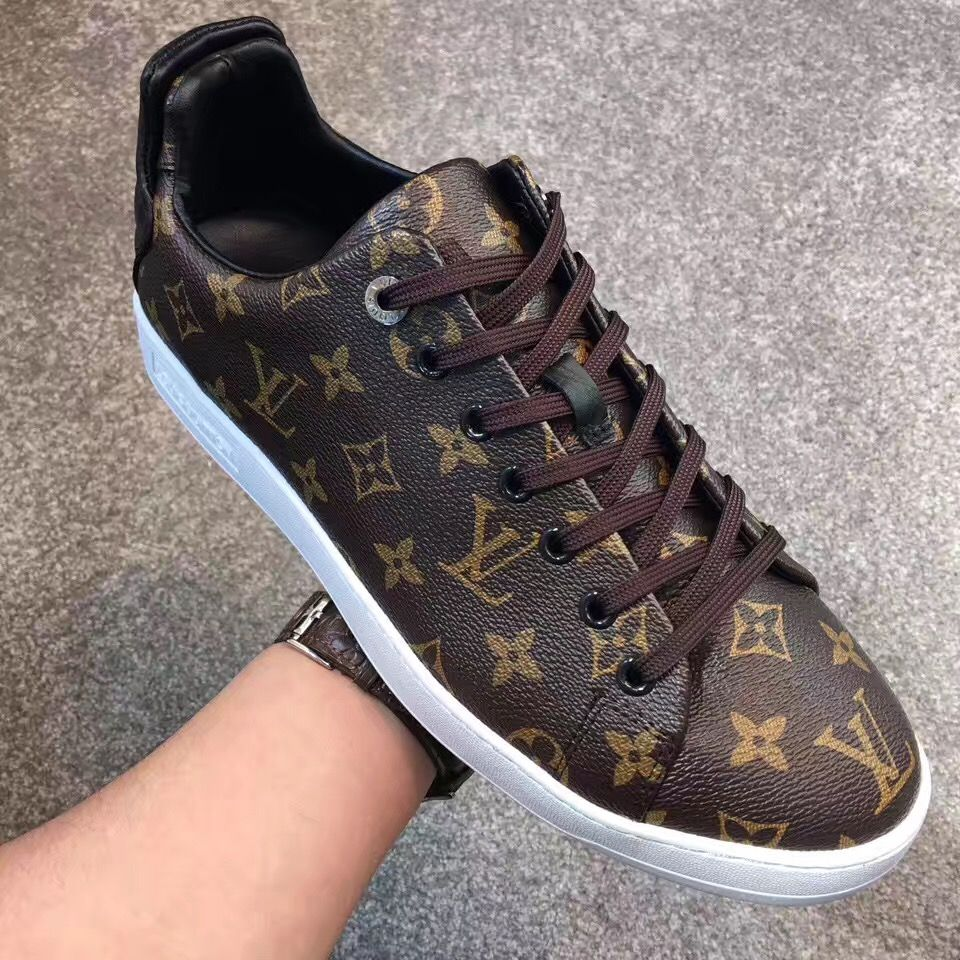 LV frontrow mens shoes