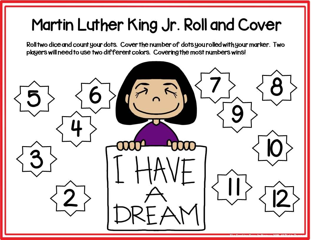 Martin Luther King Jr Activities Amp Centers
