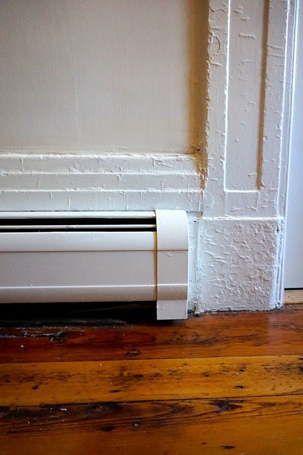 How To Paint Metal Baseboard Heater Covers: Tutorial