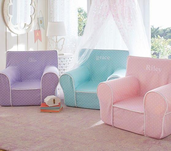 Girlsu0027 Anywhere Chair® Collection | Pottery Barn Kids