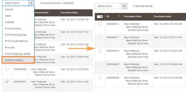 Magento 2 extensie, orders verwijderen, voordelen en mogelijkheden