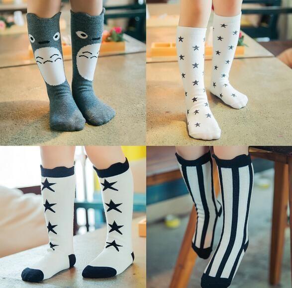 Cute Knee High Socks Tights Leg Cotton Warmer Girls Toddlers Fox Baby Kids