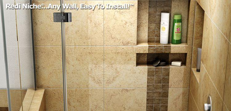 Redi Niche Recessed Shower Shelves Shower Niche Recessed Shower Shelf Shower Shelves