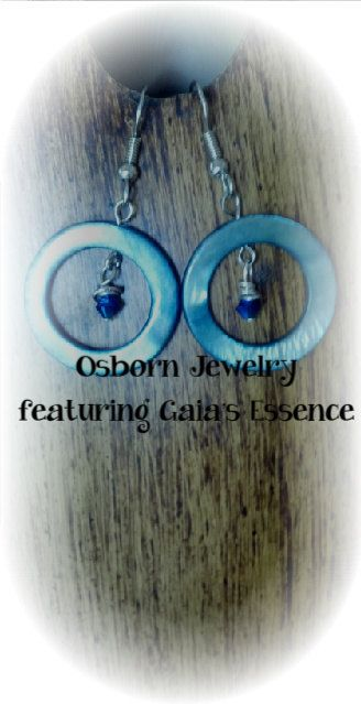 Hey, I found this really awesome Etsy listing at https://www.etsy.com/listing/178387673/blue-mother-of-pearl-earrings-with-blue