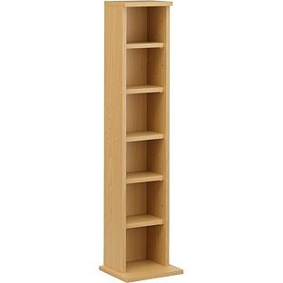 Exceptional Buy Simple Value DVD U0026 CD Tower Storage Unit  Beech Effect At Argos.co