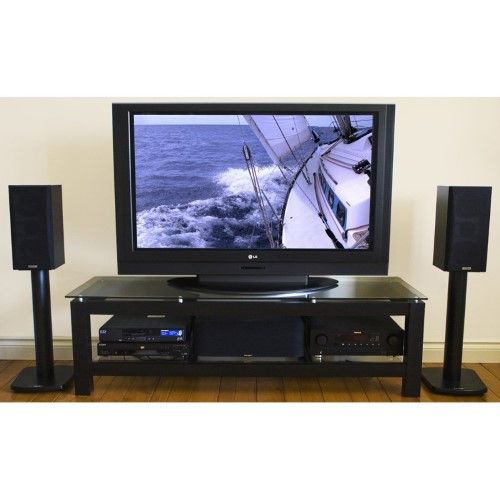 Plateau SL-2V 50 Inch TV Stand in Black