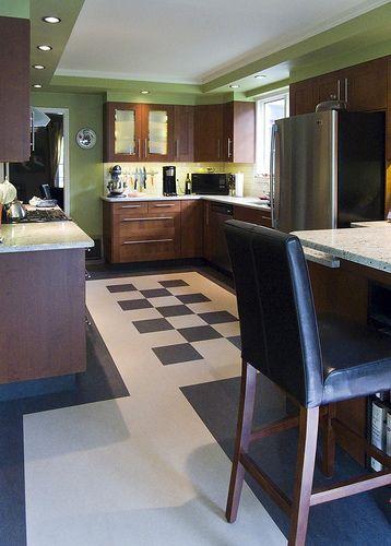 Marmoleum Floor Kitchen Flooring