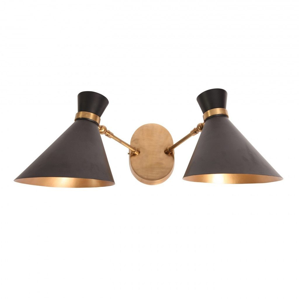 Double wall sconce | lighting | Pinterest | Wall sconces ...