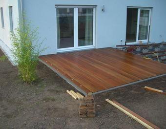 Best Urspr nglich wollten wir unsere Terrasse pflastern da wir von den Kosten einer Holzterrasse abgeschreckt waren Zuerst dachten wir zu teuer zu