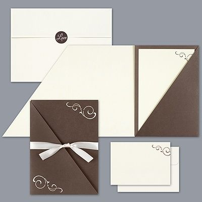 I Have The Envelopes White Shiny Paper For Inside Blue Directions Just Need Black Pocket Anyone Know Where To Find