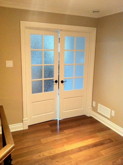 3 4 Length 8 Lite 1 Panel Gluechip Glass French Doors Interior White Interior Doors French Doors