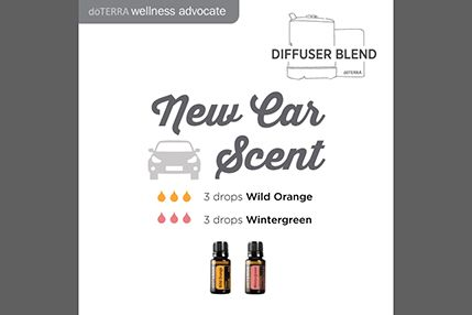 Doterra Social Media New Car Scent Diffuser Blend Doterra