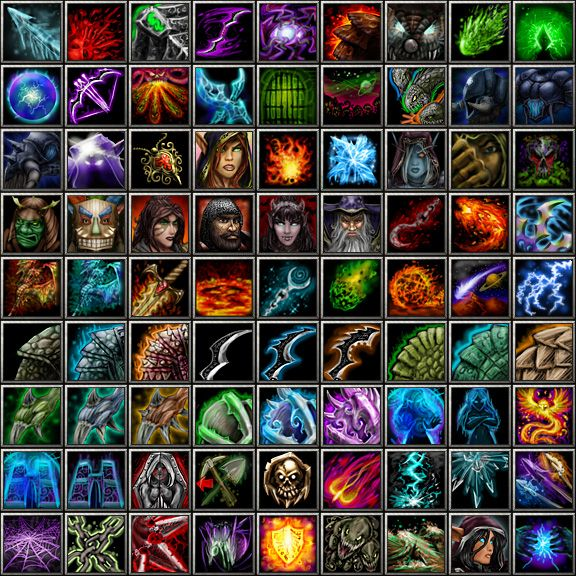 Custom Warcraft 3 Icons by 67Chrome   ui/uxdesign   Game icon, Icon