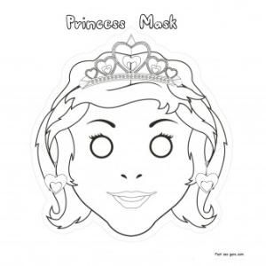 Princess Sofia Mask Printable Recherche Google Princess