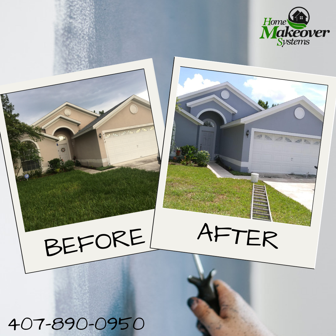 Home Makeover Systems Offers An Exclusive Alternative To Traditional Orlando Exterior Home Paint A Exterior Design Backyard House Exterior Best Exterior Paint