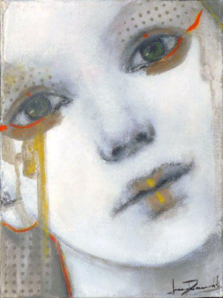 Joan Dumouchel - Blanche - Contemporary Artist - Figurative Painting