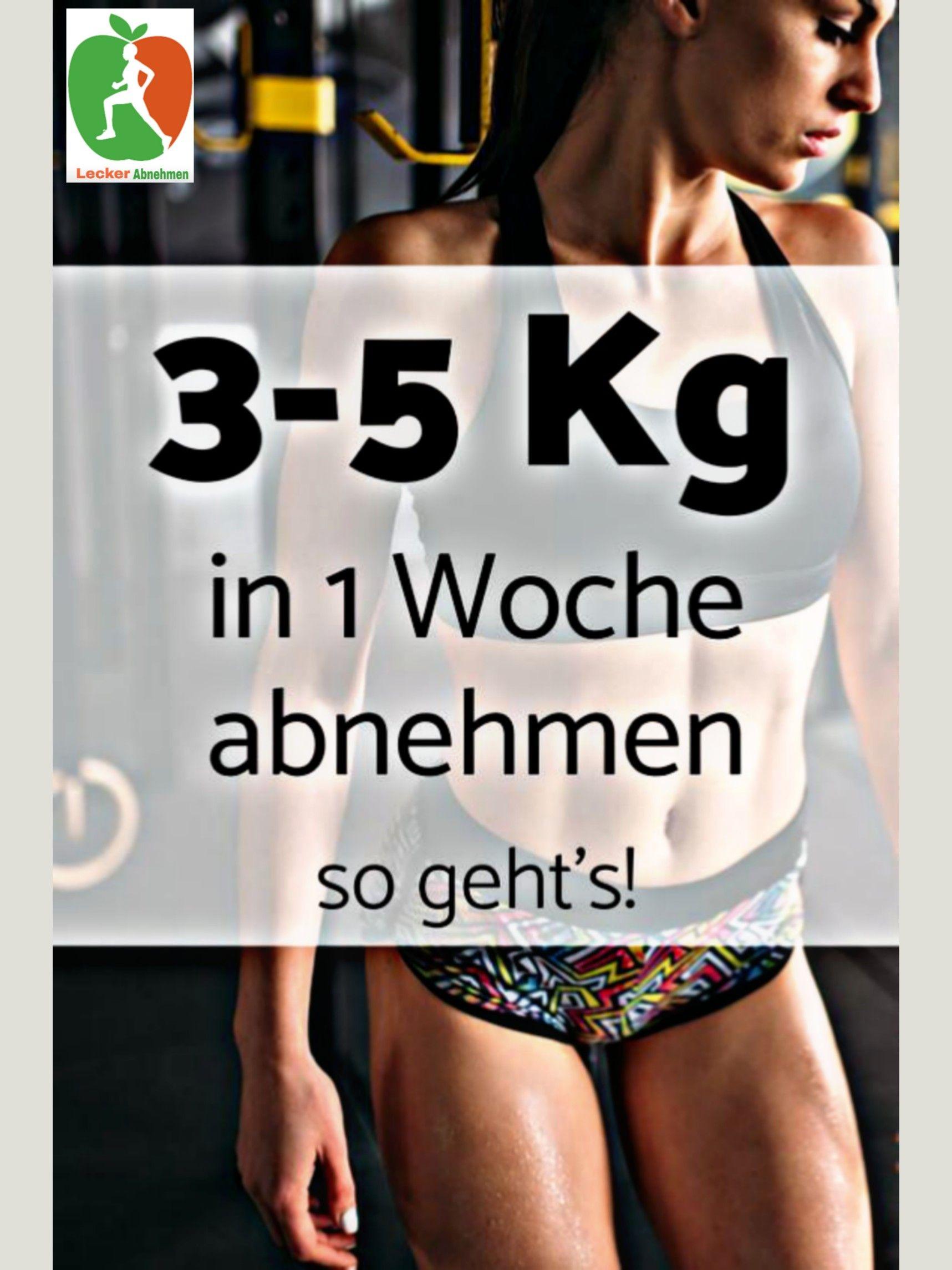 3 Kilo Fett verlieren