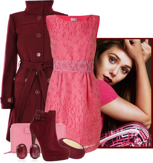 """""""Piiink"""" by wiferichie ❤ liked on Polyvore"""